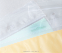 PP Clear Plastic Reclosable Zipper Ziplock Bags with Hang Hole