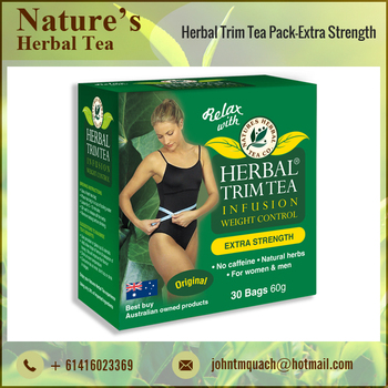 Well Processed Unadulterated Herbal Trim Tea for Weight Loss