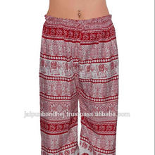 Hippie Boho harem wide leg gypsy yoga belly dance art fisherman skirt maxi trouser pants
