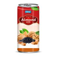Aluminum can flavored almond milk private label