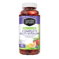 Adult Complete Multi Vitamin Gummy 250 Count Bulk Nutritional Supplements