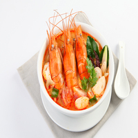 Instant Tom Yum Kung Soup Frozen Spicy Food