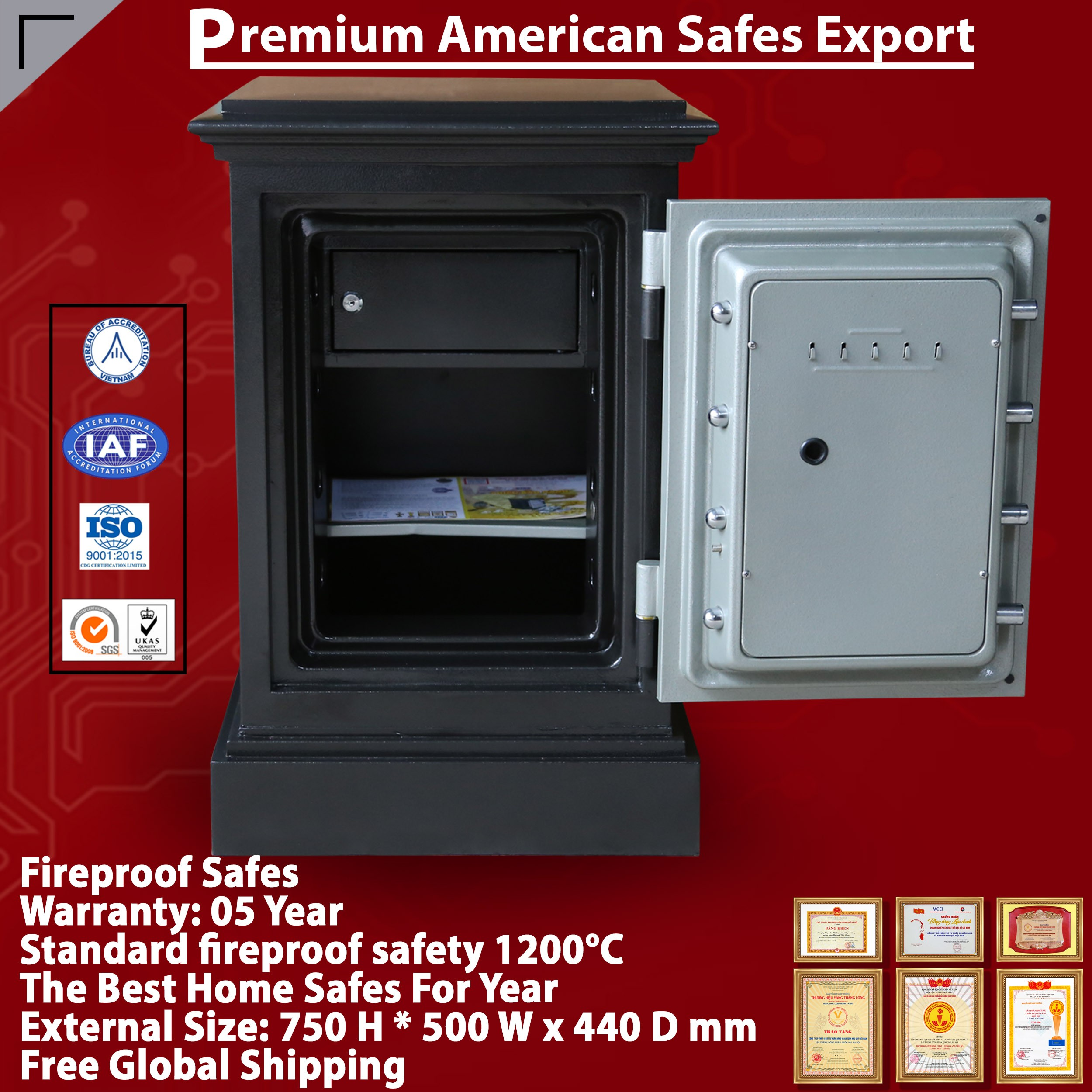 DC45 KC Home Safe For Sale Free Shipping International