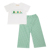 St Patrick signatures smocked boy set - BB1822