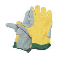 Cut Heat Kevlar Gloves with Leather Palms and Puncture Resistance Kevlar provides high tensile strength relative to its weight