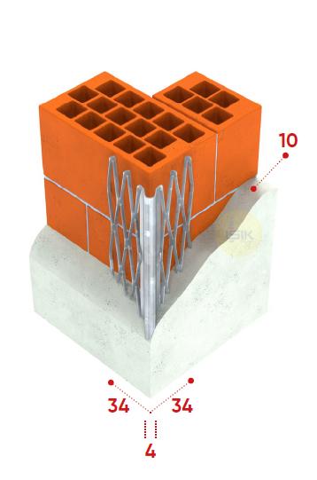 Galvanised Steel Corner Bead - Round Edge