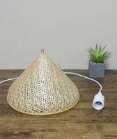 Wholesale Cheap lamp shades made of bamboo handcrafted hanging pendant lights