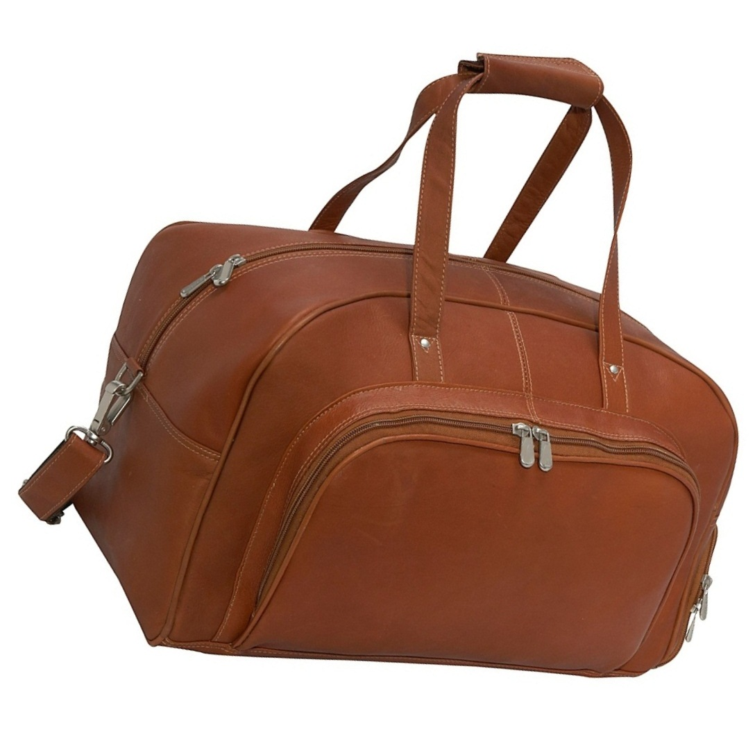 Large Capacity Leather Travel Shoulder Bag || Leather Travel Duffle Bag