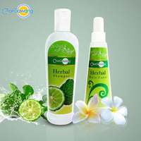 Hair Repairing Set with Hair Growth Herbal Shampoo and Anti Hair Loss Tonic Spray Conditioner