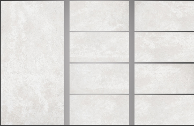 Fully Polished 300X600mm Baric White Glazed Porcelain Flooring Tile for Villa Interior