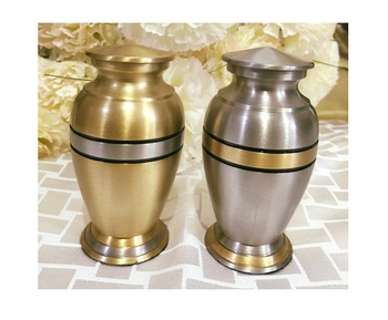 Silver & Gold Brass Urn Collections By Brassworld India