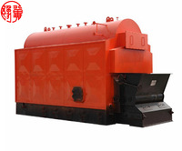 Automatized 1 2 3 4 5 6 7 8 9 10 ton Coal fired hot water Boiler for hotel hospital