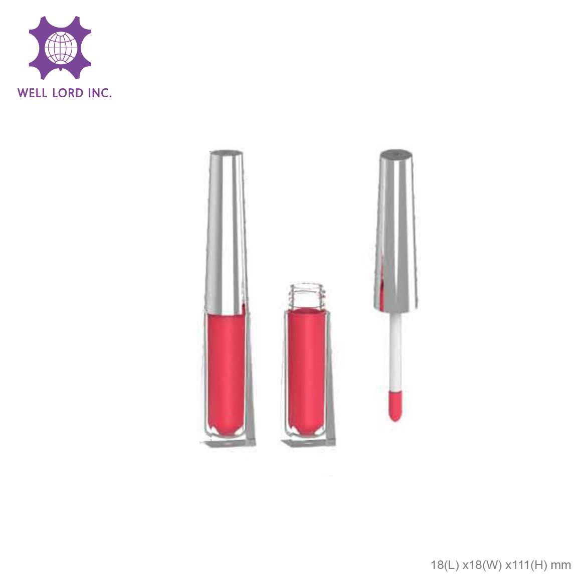 New arrival lip lingerie matte stick bold color private label butter glow lipstick tubes packaging luxury