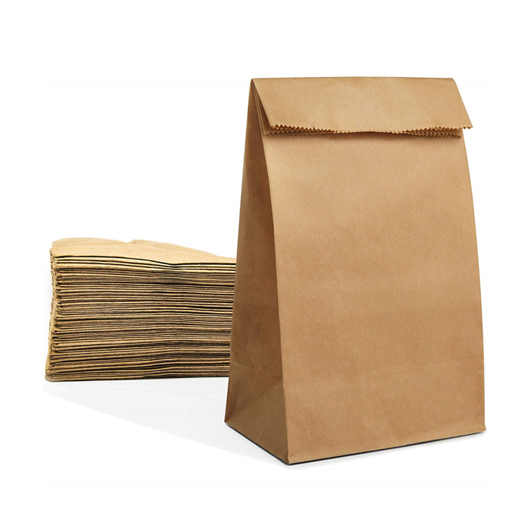 Eco Friendly Extra Large Kraft  Paper Grocery Bag Wholesale