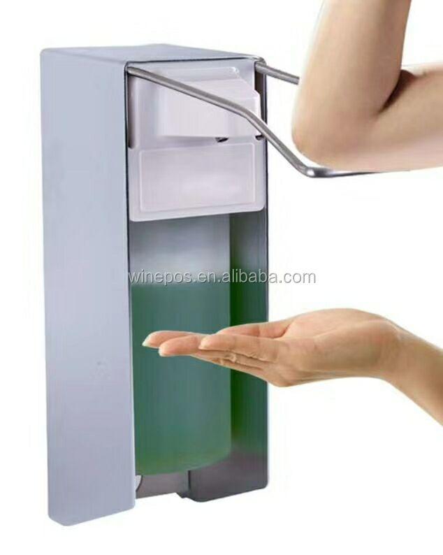 soap dispenser, sanitizer dispenser, hand dispenser  for wall and stand version