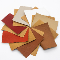 Semi PU Italian Litchi Grain Fake Leather Bonded Backing for Sofas,Chair,Furniture