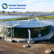 bio energy /biogas storage tank With Double Membrane Roof