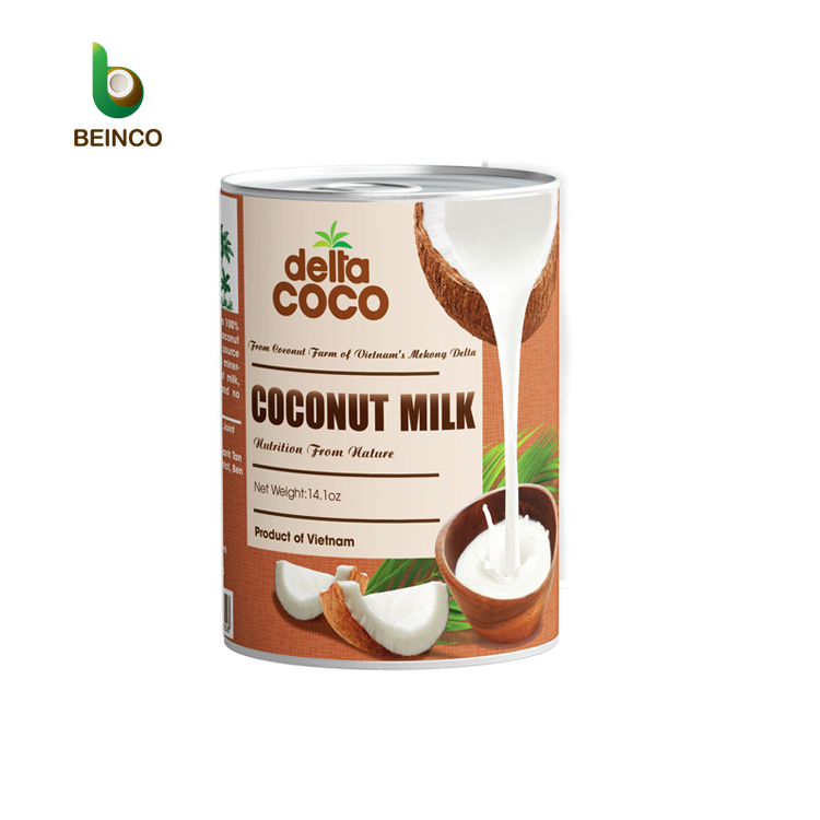 Wholesale Coconut Milk 16% To 18% Fat Free Sample Premium Quality Organic Coconut Milk
