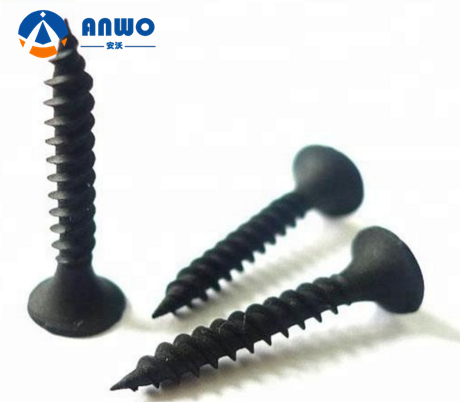 <strong>C1022</strong> Material black phosphate Drywall <strong>Screw</strong> for gypsum board Taiwan 6x25
