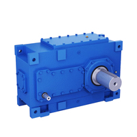 1.25~450 Ratio H Series crane helical gearbox bevel Gearbox industrial reducer