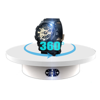 Turntable-BKL 30cm 360 Turntable Adjustable Speed Remote Control Rotating Electric turn table for Photography Product Display