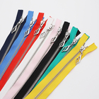 Colorful and color can be customized luggage zipper for clothes