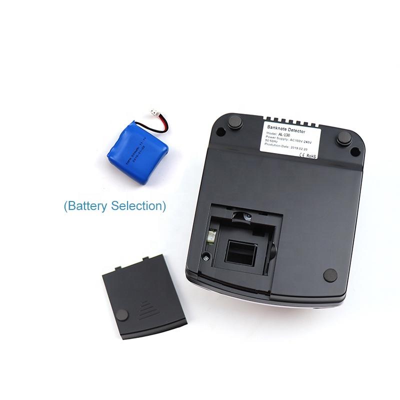 AL-130A Portable Banknote Detector Mini Money Detector Currency Detector