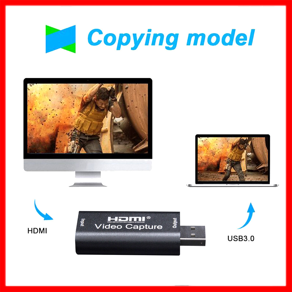 Hot sale .video capture hdmi usb  live streaming 1080P capture video card usb