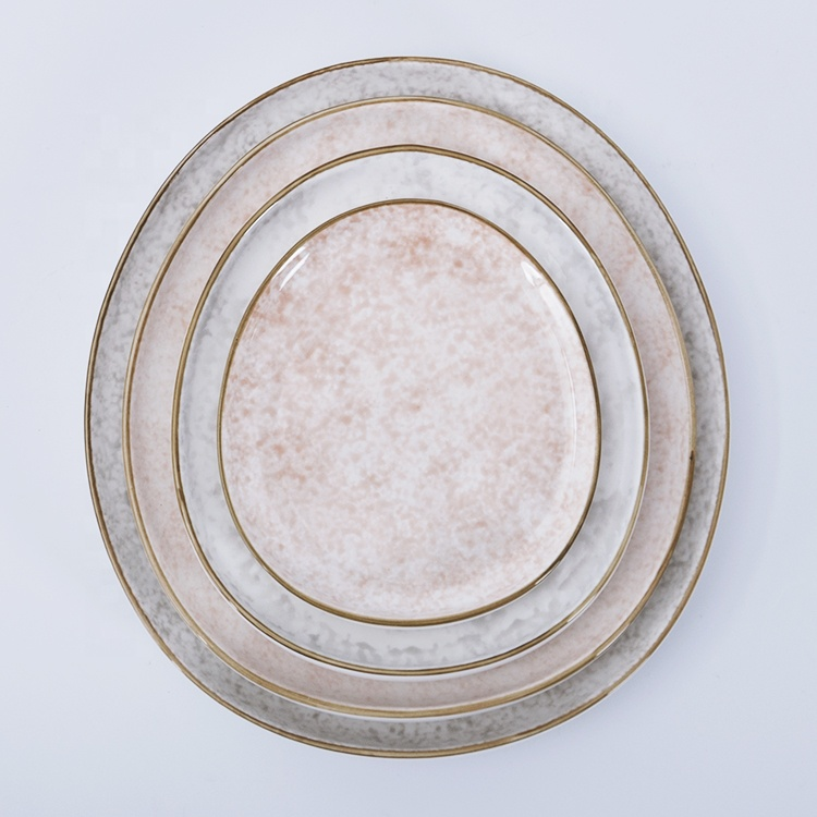 crockery catering charger plates