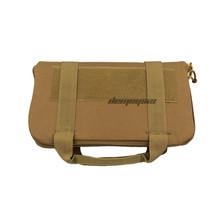 Походная сумка для охотничьих инструментов, потайная тактическая нейлоновая сумка для переноски с мягкой подкладкой, военный тренировочны...(Китай)