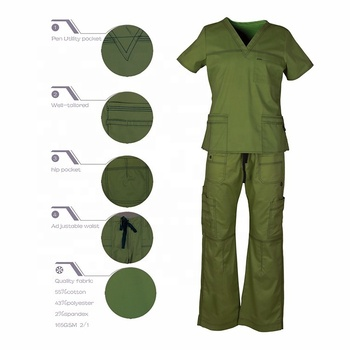 Wholesale best quality cheap unisex scrub sets medical scrubs philippines