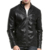 Wholesale Stylish Men's Racer Motorcycle Leather Jacket 3-color Plus Size Leather Jacket Outwear for Men