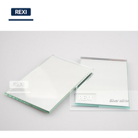 Factory Sales 1mm-6mm Clear Float Aluminium Silver Mirror Safety Glass Sheet