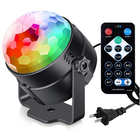 Hot Deal [ Laser Stage Red ] Mini RGB Disco Light DJ LED Laser Stage Projector Red Blue Green Lamp USB Rechargeable Wedding Birthday Party DJ Light
