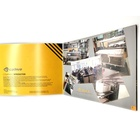 Color Printing High Quality Color Business Brochure Catalog Print Catalogue Printing