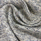 Factory Supply Double Faced Poly Cotton Yarn Dyed Jacquard Fabric For Garment