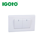 A1037/1 American standard China manufacturer wall switch lock electric socket box