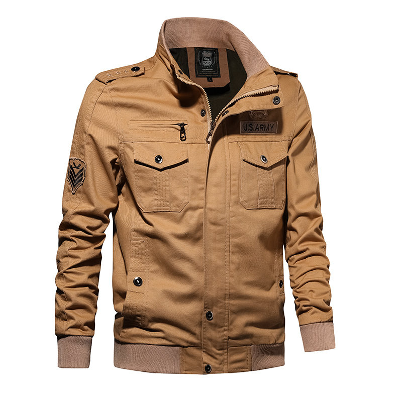 Amazon vendita caldo utensili da uomo lavato giacca di cotone giacca di grandi dimensioni
