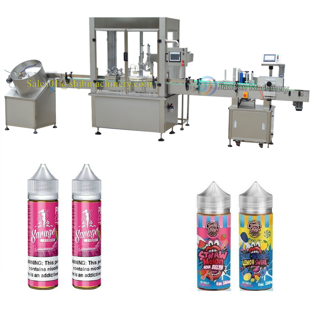 JB-YX2 Shanghai e liquid bottling machine, filling machine equipment 10ml 60ml 120ml