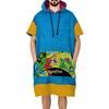 Cheap Surf clothes Logo Terry cloth poncho Make adult hooded towel
