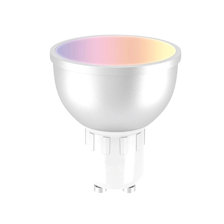 APP Controlled 5w RGB Cold White wifi smart colored Spot light Gu10 spotlights