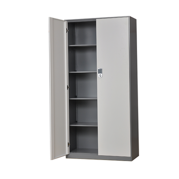 Electronic lock file cabinet colorful cabinet equipment 2 door metal school locker office home storage