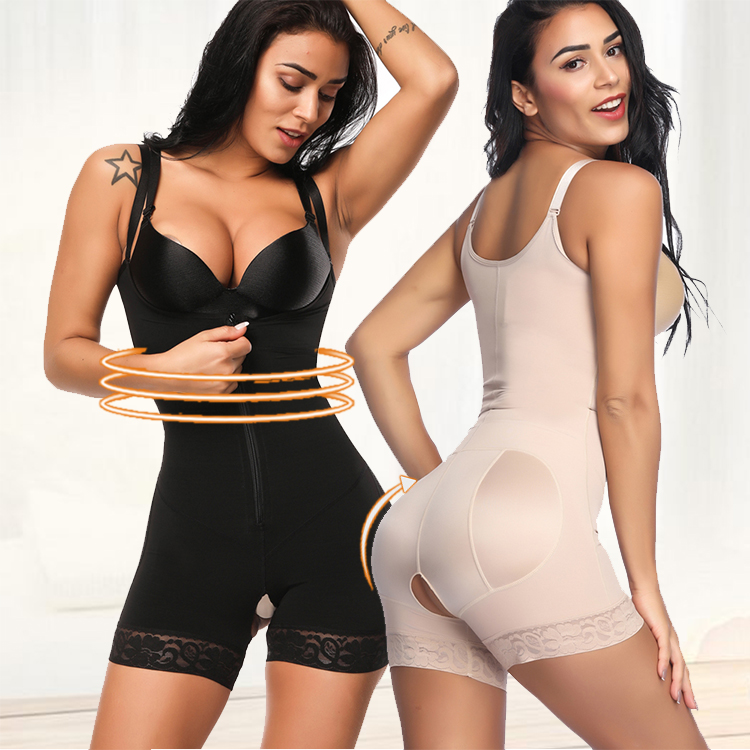 High Quality Power Slimming <strong>Women</strong> <strong>Bodysuits</strong> in Shelf Bra Girdles Shapewear
