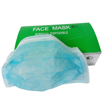 Wholesales medical disposable non woven box-packed face mask