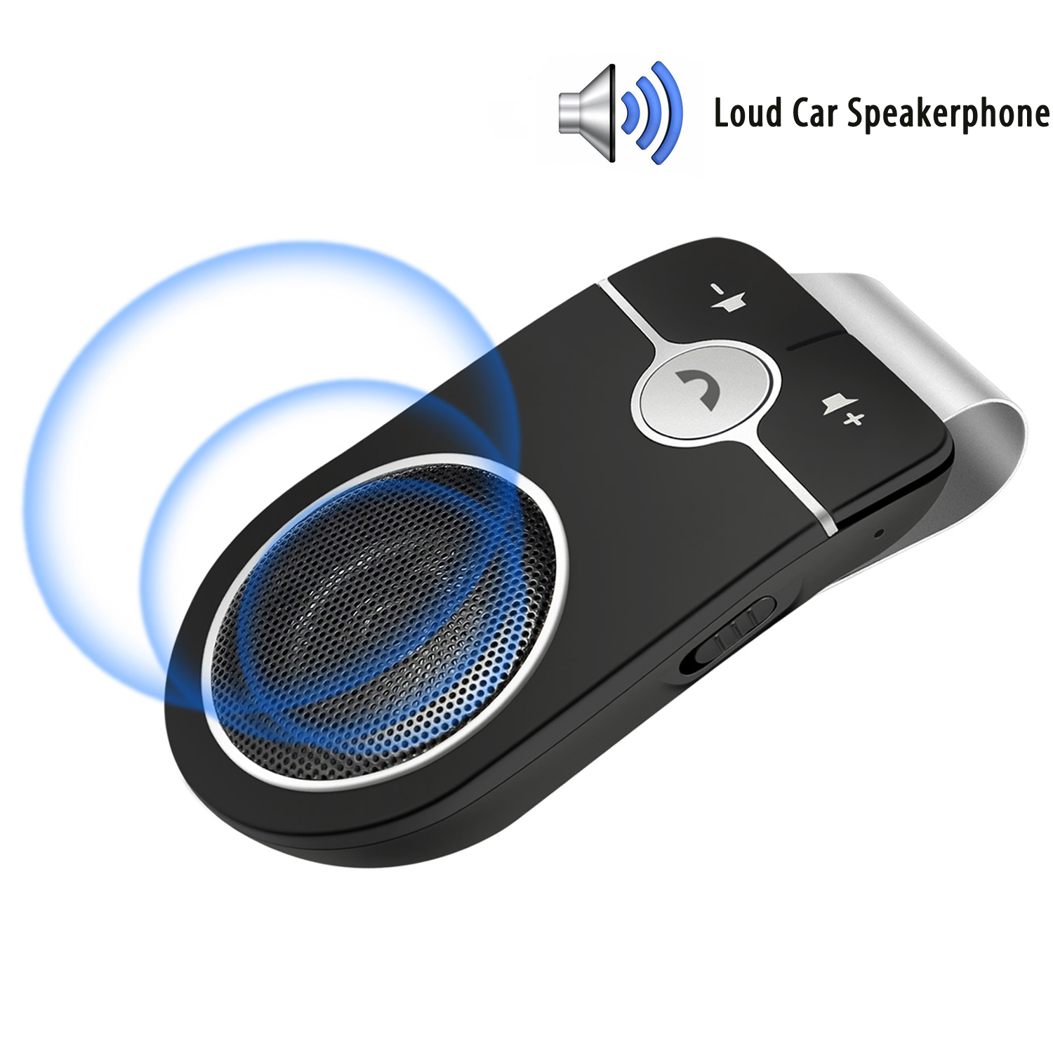 <strong>Car</strong> speaker multipoint speakerphone manos libres <strong>bluetooth</strong> para celular dsp technology <strong>Bluetooth</strong> handsfree <strong>car</strong> kit with Siri