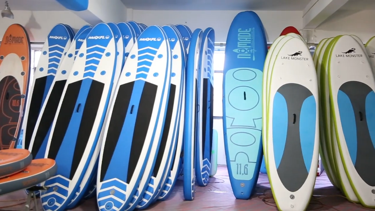 2019 Inflatable Surfing Stand Up Sup Inflatable Paddle Board