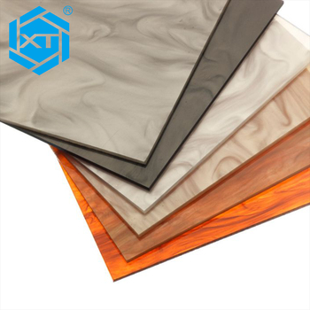 3D 3mm UV Poly Marble Moulding Acrylic Plastic Ceiling Translucent decorative PVC Sheet Wall Covering Panel Board