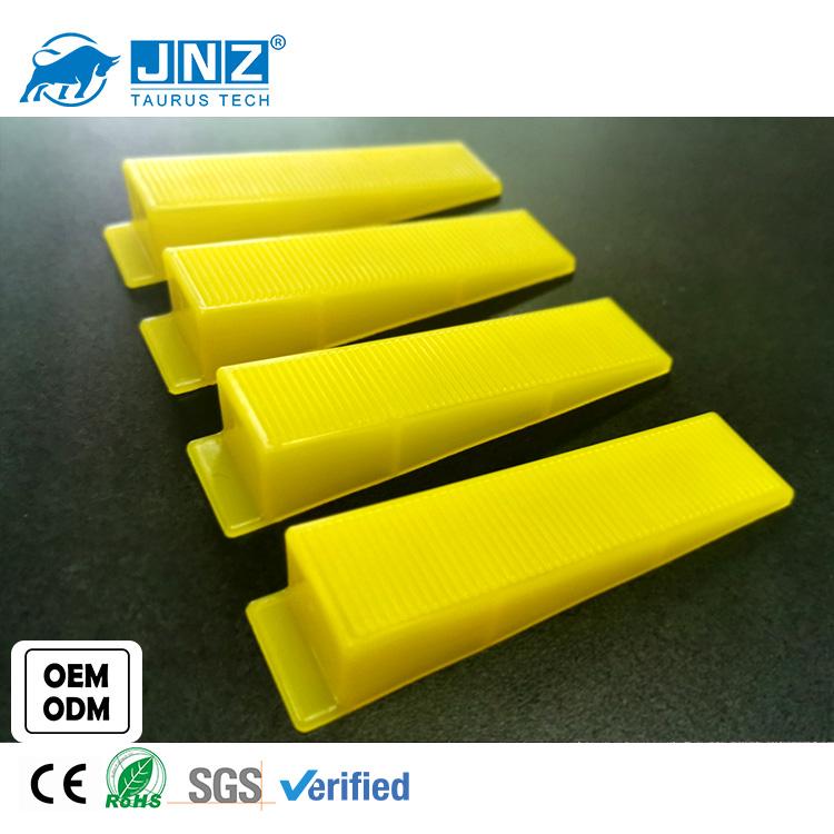 JNZ reusable plastic big tile leveling system yellow adjustable wedges
