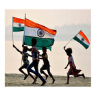 India 90*150 Cm Single Side Better Price Flag With Fast Production And Shipping