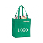 Recycled non woven polypropylene foldable shopping tote bags